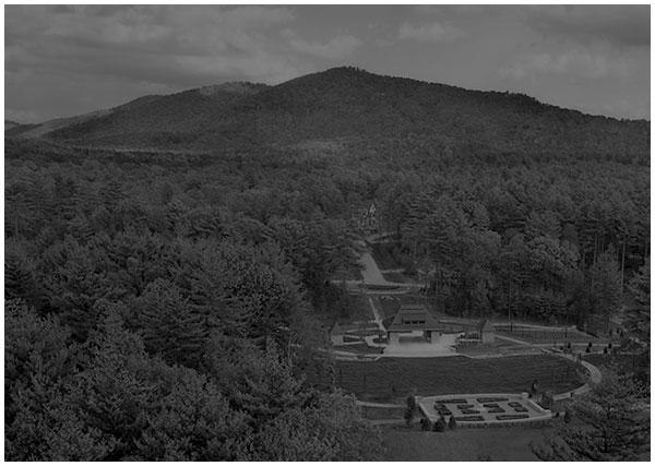 Aerial view of The Ramble Biltmore Forest in asheville north carolina